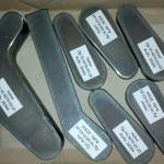 Plasmazuschnitte aus Stahl mit Kennzeichnung